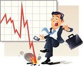 Finance,Businessman,Shock,Men,Business,Frankfurt Stock Exchange,Ilustration,Graph,Cartoon,Failure,Risk,Comic Book,Bankruptcy,Investment,Humor,People,Trading Board,Moving Down,Loss,Exchange Rate,Adult,Recession,Business Person,Stock Ticker Board,Economic Depression,Surprise,Problems,Suit,Debt,Stock Market Crash,Stock Certificate,Employment Issues,Banking,Negative Emotion,Air Raid,Wall Street,Interest Rate,Great Depression,Vector,Dollar,Line Graph,Briefcase,Concepts