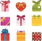 Bow,Symbol,Package,Box - Container,Shopping,Computer Icon,Valentine's Day - Holiday,Ribbon,Birthday Present,Icon Set,Vector,Heart Shape,Label,Shopping Bag,Computer Graphic,Retail,Ilustration,Clip Art,Design Element