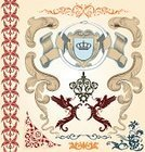 Nobility,Antique,Crown,Silk,Baroque Style,Symbol,Dragon,Wing,Design,Ornate,Retro Revival,Computer Graphic,Ilustration,Old-fashioned,Branch,Rococo Style,Drawing - Art Product,Art,Old,Decoration,Part Of,Curled Up,Leaf,Vector Ornaments,Creativity,Bird,Decor,Architectural Revivalism,Backgrounds,Vector Florals,Shape,Swirl,Illustrations And Vector Art,Multi Colored