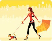 Dog,Walking,Women,Shopping,Teenage Girls,Pets,Fashion,Urban Scene,Retail,Shopping Bag,City,Elegance,Puppy,Valentine's Day - Holiday,Clothing,Customer,Sun,Holiday,Travel Destinations,Female,Sunlight,Brown Hair,Cartoon,Goodie Bag,Concepts And Ideas,Beauty And Health,Travel Locations,handcarves,Character Traits,Fashion,Gift Bag,Buying,one two three four,odltimer