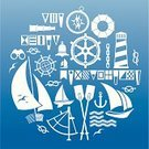 Nautical Vessel,Sailing,Symbol,Sail,Sea,Cruise,Sailing Ship,Yacht,Lighthouse,Wave,Sign,Oar,Seagull,Anchor,Compass,Yachting,Vector,Rope,Sailboat,Vacations,Flag,Design Element,Silhouette,Travel,Journey,Drinking Water,Ilustration,Binoculars,Set,Recreational Pursuit,Action,Planet - Space,Nature,Tripping,Bell,Chain,Composition