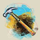 Hammer,Scribble,Equipment,Square,Incomplete,Single Object,Grunge,Metal,Multi Colored,Concepts,Paintings,Objects/Equipment,Household Objects/Equipment,Art,Drawing - Art Product,Composition,Painterly Effect,Man Made Object,Metallic,Painted Image,Ilustration,Brush Stroke,Vector,Illustrations And Vector Art,hand drawn,Heavy,Vector Backgrounds