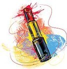 Lipstick,Fashion,Ilustration,Drawing - Art Product,Incomplete,Red,Grunge,Scribble,Brush Stroke,Paintings,Vector,Composition,Beauty,Concepts,Painted Image,Beautiful,Multi Colored,Art,Square,Vector Backgrounds,Illustrations And Vector Art,Beauty And Health,hand drawn,Painterly Effect
