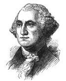 George Washington,President,Ilustration,Politics,Engraved Image,General,Pencil Drawing,Portrait,One Person,History,USA,Name Of Person,People,Isolated On White,White Background,Men,Grayscale,Fame