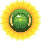 Sign,Agriculture,Farm,Sunflower,Healthcare And Medicine,Healthy Lifestyle,Sun,Symbol,Organic,Field,Insignia,Flower,Backgrounds,Wheat,Single Flower,Sunlight,Computer Icon,Green Color,Nature,Tree,Plant,Label,Environmental Conservation,Yellow,Placard,Message,Ilustration,Concepts And Ideas,Outdoors,Banner,Illustrations And Vector Art,Nature,Whole Wheat,Leaf,Cloudscape,Sky,Lush Foliage,Cloud - Sky