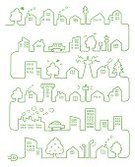 Town,House,In A Row,Line Art,Environment,Electricity,Green Color,Car,Factory,Connection,Drawing - Art Product,Outlet,Electric Plug,Smoke - Physical Structure,Cartoon,Ilustration,Tree,Telephone Pole,Chimney,Hand-drawn,Skyscraper,Tower,Smoke Stack,Landscapes,Nature,Vector Cartoons,Panoramic,Illustrations And Vector Art