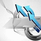 Arrow Symbol,Backgrounds,Color Gradient,Gray,Direction,Curve,Business,Three-dimensional Shape,Abstract,Wave Pattern,Computer Graphic,Futuristic,Copy Space,Modern,Sparse,Business,Business Backgrounds,Shape,Design,Illustrations And Vector Art,Ilustration,Vector Backgrounds,Vector,Business Abstract,Circle,Empty,Style,Blue