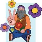 Hippie,Activist,Youth Culture,Tranquil Scene,Peace Sign,Love,Extremism,Harmony,Serene People,Symbols Of Peace,Agreement