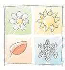 Four Seasons,Season,Weather,Symbol,Autumn,Sun,Sketch,Winter,Springtime,Single Flower,Summer,Watercolor Painting,Leaf,Flower,Snow,Drawing - Art Product,Year,Icon Set,Scribble,Cartoon,Child's Drawing,Pencil Drawing,Drawing - Activity,Ice Crystal,Snowflake,Ilustration,Ice,Vector,Design Element,Cute,Time,Nature,Part Of,Concepts And Ideas,Illustrations And Vector Art