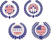 Patriotism,Federal Building,Symbol,Insignia,USA,Shielding,Washington DC,Wreath,Shield,American Culture,Laurel Wreath,Sign,Government,Liberty,Blue,Badge,George Washington,Politics,Cultures,Frame,Computer Graphic,Backgrounds,Washington State,Voting,Ideas,Flag,Pattern,National Landmark,Decoration,Freedom,Concepts,Star Shape,Design Element,Isolated,Design,Vector,Striped,Success,Election,The Americas,White,Party - Social Event,nation,Placard,Part Of,Banner,Shape,Ilustration,Red,Confidence