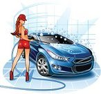 Car,Car Wash,Washing,Women,Cartoon,Cleaning,Clean,Mechanic,Auto Repair Shop,Repairing,Workshop,Vector,Bubble,Silhouette,Garden Hose,Service,Symbol,Computer Icon,Water,Blue,Wheel,Glitter,Illustrations And Vector Art,People,Vector Cartoons,Transportation,Bib Overalls