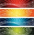 Christmas,Star - Space,Backgrounds,Banner,Party - Social Event,Celebration,Shiny,Placard,Carnival,Abstract,Vector,Blue,Green Color,Red,Decoration,Multi Colored,Orange Color,Creativity,Design Element,Backdrop,Horizontal,Wave Pattern,Ilustration,Collection,Style,Holiday Backgrounds,Holidays And Celebrations,Star Dust,graphic element
