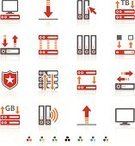Symbol,Network Server,Computer Icon,Data,Icon Set,Computer Network,Computer,Communication,Food Processing Plant,Security,terabyte,Security System,Sharing,Internet,Set,Color Image,ftp,Cursor,Exchanging,Clip Art,Computer Monitor,Shield,Downloading,Wireless Technology,PC,Ilustration,Star Shape,Vector,upload,gigabyte,Server Rack