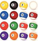 Pool Ball,Number,Pool Game,Number 10,Number 11,Number 9,Cue Ball,Number 7,Number 2,Number 1,Sport,Number 12,Number 15,Leisure Games,Icon Set,Computer Icon,Number 13,Number 3,Set,Collection,Number 6,Group of Objects,Blue,Ilustration,Number 5,Number 8,Number 14,Brightly Lit,Number 4,Vector,Purple,Orange Color,Design,White,Circle,Eight Ball,Reflection,Digitally Generated Image,Green Color,nine ball,Brown,Bright,Vibrant Color,Red,Black Color,Yellow,Shadow,Curve
