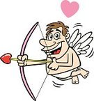 Cupid,Valentine's Day - Holiday,Cartoon,Love,Humor,Heart Shape,Dating,People,Arrow,Flirting,Bow,Cute,Male,Artificial Wing,feelings,Romance,Men,Flying