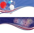 Firework Display,Pyrotechnics,Frame,Banner,White Background,Patriotism,American Culture,Fourth of July,template,Celebration,Star - Space,Party - Social Event,Day,Symbol,Decoration,American Flag,Balloon,USA,Red,Entertainment,Star Shape,Curve,Design,Modern,Horizontal,Vector,Abstract,Wallpaper Pattern,Bunch,Set,Parties,Text Box,Copy Space,Illustrations And Vector Art,Holidays And Celebrations,Night,Design Element,Blue,Wave Pattern,Holiday,Event,nation,No People,Vector Backgrounds,Sky