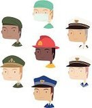 Symbol,Firefighter,Occupation,Computer Icon,Icon Set,Cartoon,Job - Religious Figure,Uniform,Police Force,Sketch,Nurse,Doctor,Army,Rescue,Cute,People,Avatar,Caricature,Navy,Smoke Jumper,Characters,Professional Occupation,Collection,Marines,Explorer,Control,Sea,Vector,Military,Costume,Community,Armed Forces,Front View,Period Costume,Traditional Clothing,Portrait,Avatar Design,Rank,Social Media Avatars,Design,Military Invasion,Ilustration,The Media,Avatar Pictures,War,Authority,Stereotypical,Unrecognizable Person,Avatar Character,Set,Manual Worker,Pictures Of Avatar,Design Element,Togetherness