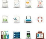 Symbol,Bill,Computer Icon,Icon Set,Document,Finance,Office Interior,Business,Analyzing,Print,Comparison,Help,Human Eye,preview,Printing Out,Archives,Set,Time Clock,Safety,Ring Binder,Computer Printer,Identity,Checklist,Clock,Assistance,Printout,Vector,Filing Cabinet,ID Card,Card File,Filing Tray,Collection,Press Pass,Interface Icons,Group of Objects,Equipment,Design Element,Pie Chart,Single Object,Line Graph,Buoy,Design,Menu Analysis,graphic element,Isolated On White,Shadow,Yield Testing