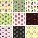 Fruit,Pattern,Food,Apple - Fruit,Seamless,Backgrounds,Strawberry,Raspberry,Pineapple,Symbol,Pear,Blackberry,Orange - Fruit,Kiwi - Fruit,Abstract,Healthy Lifestyle,Vector,Grape,Repetition,Lemon,Orange Color,Healthy Eating,Cherry,Red,Variation,Vine,Design,Dieting,Green Color,Modern,Group of Objects,Ilustration,Simplicity,Fabric Swatch,Brown,Multi Colored,Vegetarian Food,Organic,Series,No People,Nature,Beige,Design Element,Fruits And Vegetables,Decoration,Food Backgrounds,Food And Drink,Illustrations And Vector Art,Vector Backgrounds