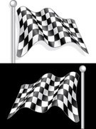 Checkered Flag,Flag,Checked,Sports Race,Waving,Sports Car,Motorsport,Finishing,Go-Carting,Black Color,Competition,Backgrounds,The End,Pattern,Illustrations And Vector Art,Sports And Fitness,Success,No People,Victory,Black Background,Competition,White,Material,Winning,Speed