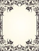 Frame,Leaf,Swirl,Paisley,Scroll Shape,Decoration,Black Color,Art Nouveau,Ornate,Page,Engraved Image,Old-fashioned,Engraving,Elegance,flourishes,Floral Pattern,Vector,filigree,Intricacy,Curve,Growth,Beautiful,Clip Art,Ilustration,Vector Backgrounds,Blank,Acanthus Pattern,Antique,Abstract,Design Element,Spiral,Squiggle,Empty,Illustrations And Vector Art,Copy Space,Cross Hatching,Image Created 2000s,Vector Ornaments,Part Of,Vector Florals,No People