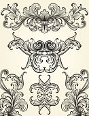 Growth,Scroll Shape,Antique,Ornate,Engraving,Corner,filigree,Elegance,Decoration,Paisley,Leaf,Swirl,Floral Pattern,flourishes,Old-fashioned,Engraved Image,Clip Art,Spiral,Black Color,Intricacy,Dividing,Ilustration,Angle,Design Element,Vector Backgrounds,Squiggle,No People,Vector Ornaments,Abstract,Acanthus Pattern,Image Created 2000s,Vector,Illustrations And Vector Art,Part Of,Curve,Beautiful,Cross Hatching,Vector Florals,Art Nouveau