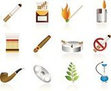 Tobacco Crop,Symbol,Tobacco Product,Cigar,Cigarette Pack,Computer Icon,Smoking,Ashtray,Cigarette,Cigarette Lighter,Pipe,Smoking Issues,Match,Smoke - Physical Structure,Ilustration,Hookah,Narcotic,Sign,Personal Accessory,No Smoking Sign,Plant,Toxic Substance,Vector Icons,Forbidden,Material,Isolated Objects,Medicine And Science,Equipment,Flame,Warning Sign,Vector,Illustrations And Vector Art,Set,Heat - Temperature,Website Icon,Interface Icons,Clip Art,Internet Icon,Cancer,Fire - Natural Phenomenon