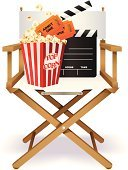 Movie Theater,Movie,Film Industry,Popcorn,Director,Chair,Ticket,Movie Ticket,Manager,Entertainment,Hollywood - California,Enjoyment,Admit One,Slate,Illustrations And Vector Art,Arts And Entertainment,Ideas,Snack,Film Slate,Concepts
