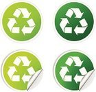Environmental Conservation,Recycling,Recycling Symbol,Circle,Label,Badge,Vector Ornaments,Vector Icons,Vector Backgrounds,Vector,Green Color,Illustrations And Vector Art