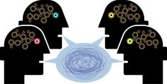 Meeting,Discussion,Human Brain,Human Head,Talking,Business,Arguing,Communication,Voice,Gear,Concepts,Conference Call,Speech Bubble,Bicycle Gear,Press Conference,Communication,People,Illustrations And Vector Art,Concepts And Ideas