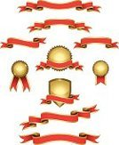 Banner,Award Ribbon,Ribbon,Coat Of Arms,Award,Scroll,Scroll Shape,Shield,Gold,Gold Colored,Badge,Award Plaque,Seal - Stamp,Red,Vector,Insignia,Sign,heraldic,Medal,Interface Icons,Symbol,Success,Label,First Place,Blank,Circle,Design Element,Shiny,Set,Bow,Ilustration,Curled Up,Icon Set,Design,wining,Computer Icon,Decoration,Achievement,Satin,Copy Space,Metallic,Isolated On White,Illustrations And Vector Art,Collection,S-shape,Business,Concepts And Ideas,No People,Series