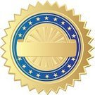 Award,Badge,Medallion,Diploma,Medal,Gold Colored,Legal System,Symbol,First Place,Blue,Banner,Certificate,Insignia,Agreement,Label,Law,Success,Sport,Empty,Wax,Trophy,Document,Blank,Space,Honor,Arts Symbols,Vector Ornaments,Arts And Entertainment,Ilustration,Contract,Illustrations And Vector Art,Isolated,signatory,Business,Clip Art,Business Symbols/Metaphors,Shiny,Achievement