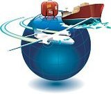 Freight Transportation,Shipping,Airplane,Earth,World Map,Travel,Nautical Vessel,Industrial Ship,Transportation,Bag,Symbol,Luggage,Suitcase,Tourism,Planet - Space,Merchandise,Journey,Business,Retail,Vacations,Business Travel,Business Travel,Business,Transportation,Business Symbols/Metaphors