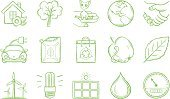 Symbol,Sketch,Doodle,Water,Computer Icon,Icon Set,Tree,House,Meter - Instrument Of Measurement,Energy,Healthy Lifestyle,Light Bulb,Car,Drawing - Art Product,Solar Power Station,Environment,Fuel and Power Generation,Food,Handshake,Handwriting,Nature,Wind Turbine,Green Color,Electricity,Drop,Electric Car,Recycling,Solar Panel,Organic,Turbine,Station,Recycling Symbol,Alternative Energy,Set,Vector,Ilustration,Environmental Conservation,Shopping Bag,Worm,Leaf,Pencil Drawing,Interface Icons,Planet - Space,Cooperation,Compact Fluorescent Lightbulb,Apple - Fruit,Wind Power,Wildlife Reserve,Animal,Vector Icons,Medicine And Science,Illustrations And Vector Art,Nature,Nature Symbols/Metaphors
