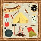 Camping,Canoe,Tent,Firefly,Icon Set,Campfire,Frame,Marshmallow,Roasted,Sleeping Bag,Jar,Rustic,Water Bottle,Old,Wood - Material,Set,Lantern,Outdoors,Paw Print,Oar,Penknife,Clip Art,Fork,Design Element,Vacations,Compass,Activity,Twig,Bark,Nature,Spoon,Summer,Illustrations And Vector Art,Hot Dog,Summer,Sports And Fitness,Corkscrew,Vector Icons,Axe,Sport,Isolated,Sports Symbols/Metaphors