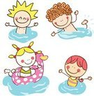 People,Image,Friendship,Lifestyles,Nature,Vacations,Travel Destinations,Swimming,Playful,Summer,Small,Fun,Playing,Child,Cute,Illustration,Cartoon,Group Of People,Boys,Girls,Photography,Vector,babies and children,,Illustrations And Vector Art