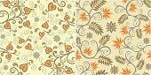 Backgrounds,Baroque Style,Seamless,Floral Pattern,Rococo Style,Classical Style,Modern,Twisted,Ornate,Design,Vector Backgrounds,Abstract,Leaf,Part Of,Vignette,Design Element,Illustrations And Vector Art,Vector Ornaments,Decoration,1940-1980 Retro-Styled Imagery,Ilustration,Antique,Vector,Swirl