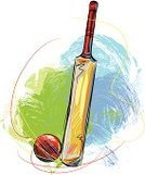 Sport of Cricket,Sports Bat,Sport,Cricket Bat,Ball,Vector,Painted Image,Ilustration,Sketch,Team Sports,Art,Illustrations And Vector Art,Brush Stroke,Drawing - Art Product,Sports And Fitness,Vector Backgrounds,Grunge,hand drawn,Sphere,Painterly Effect,Creativity