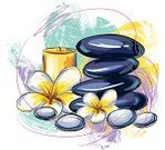 Health Spa,Spa Treatment,Candle,Stone,Creativity,Flower,Frangipani,Brush Stroke,Ilustration,Art,Sketch,Vector,Beauty And Health,Illustrations And Vector Art,Vector Backgrounds,Grunge,Drawing - Art Product,Painted Image,Painterly Effect,Pebble,hand drawn