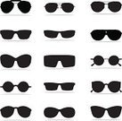 Sunglasses,Eyeglasses,Symbol,Computer Icon,Fashion,Icon Set,Vector,Eyewear,Cool,Black Color,Isolated,Funky,Monochrome,Vector Icons,Illustrations And Vector Art