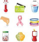 Donation Box,Symbol,Charity and Relief Work,Computer Icon,Human Hand,Credit Card,Giving,Jar,Coin,Help,Assistance,Thermometer,Savings,Box - Container,Ribbon,Support,Sign,Light at the End of the Tunnel,Ilustration,Goal,Ribbon,Vector,Bucket,Hope,Rescue,Aspirations,Begging - Social Issue,Plastic,Collection,Isolated,Alertness,Set,Glass - Material