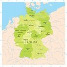 Germany,Map,Vector,Bavaria,Berlin,Bundesländer,Hamburg - Germany,Schleswig-Holstein,Baden-Wurttemberg,Munich,River,Saxony,Europe,North Rhine Westphalia,Brandenburg,Hesse,region,German North Sea Region,Ilustration,Lower Saxony,Country - Geographic Area,No People,Saxony-anhalt,Color Image,Rhineland-Palatinate,Clip Art,Latitude,Digitally Generated Image,Water,Thuringia,Saarland,Green Color,Physical Geography,Square,Computer Graphic,Mecklenburg-Vorpommern,Longitude