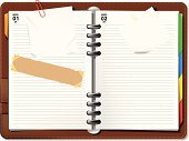 Personal Organizer,Diary,Calendar,Notebook,Ring Binder,Note Pad,Page,Paper,Blank,Week,Torn,Event,Symbol,Binder Clip,Old,Calendar Date,Meeting,Day,Sticky,Adhesive Note,Business,Green Color,Month,White,Adhesive Tape,Document,No People,Year,Ideas,Time,Number,Curled Up,Paper Clip,Empty,Reminder,Modern,Office Supply,Yellow,Sign,Orange Color,Red,Blue,Page Curl