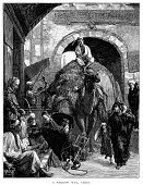 City,Camel,The Past,Urban Scene,Victorian Style,19th Century Style,Ilustration,Image Created 19th Century,Old,Art,Social History,Print,Woodcut,Thoroughfare,North Africa,Egyptian Culture,Cairo,Urban Road,Human Settlement,People,Narrow,History,Cultures,Styles,City Life,Black And White,Crowded,People,Egypt,Lifestyle,Street,Old-fashioned,Middle Eastern Culture,Road,Transportation,Africa,Antique,Camel Family,Setting,Engraved Image