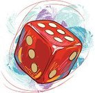 Dice,Drawing - Art Product,Composition,Grunge,Ilustration,Art,Sketch,Vector,Sports And Fitness,Paintings,Brush Stroke,Painted Image,Red,Illustrations And Vector Art,Vector Backgrounds,hand drawn,Square,Freshness,Painterly Effect,Refreshment