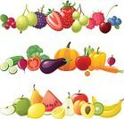 Fruit,Vegetable,Food,Healthy Eating,Strawberry,Vector,Ilustration,Blueberry,Banana,Raspberry,Freshness,Slice,Peach,Apple - Fruit,Broccoli,Grape,Lemon,Set,Watermelon,Cherry,Cranberry,Berry Fruit,Carrot,Collection,Pear,Orange - Fruit,Tomato,Kiwi - Fruit,Pumpkin,Eggplant,Pepper - Vegetable,Asparagus,Radish,Cucumber,Summer,Blackberry,Gooseberry,Nature,Cabbage,Sweet Food,Vegetarian Food,Illustrations And Vector Art,Ripe,Agriculture,Raw Food,Fruits And Vegetables,Food And Drink,Vector Backgrounds,Currant,Leaf