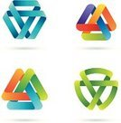 Sign,Abstract,Symbol,Triangle,Design Element,Design,Infinity,Computer Icon,Shape,Interlocked,Icon Set,Mobius Strip,Ribbon,Colors,Hexagon,Ribbon,Striped,Vector,Computer Graphic,Futuristic,Digitally Generated Image,Group of Objects,Green Color,Curve,Blue,Forecasting,Drawing - Art Product,Multi Colored,Rainbow,Set,Hex,Orange Color,Plexus,Flying,Pink Color,Identity,Levitation,White Background,No People,Shadow,Ilustration,graphic elements,Vibrant Color,Vector Icons,Clip Art,Isolated On White,Illustrations And Vector Art,Arts And Entertainment