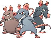 Rat,Mouse,Cartoon,Evil,Vector,Pest,Overweight,Characters,Smiling,Standing,Illustrations And Vector Art,Vector Cartoons,Animals And Pets,Thin,Gray,Brown,Color Gradient