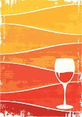 Wine,Wine Bottle,Backgrounds,Dirty,Ilustration,Red Wine,Alcohol,Wineglass,Orange Color,Drink,Grunge,Vector,Frame,Old-fashioned,Sign,Weathered,Copy Space