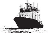 Ice-breaker,Military Ship,Nautical Vessel,Ship,Shipping,Sailing Ship,Industrial Ship,Freight Transportation,Sea,Sketch,Military,Old,Transportation,Drawing - Activity,Marines,Old-fashioned,Mode of Transport,Vector,Communications Tower,Wave,Black Color,Travel,Intricacy,Ink,Silhouette,Ancient,Mast,North,Ilustration,Business Travel,Seascape,Water